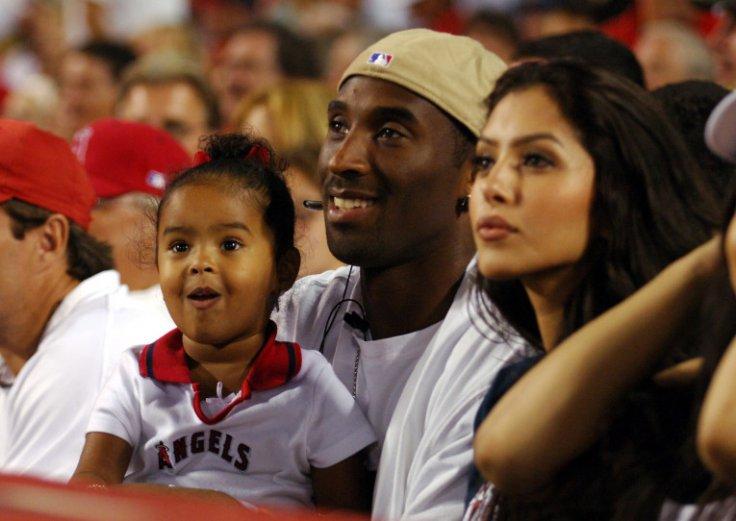 Kobe Bryant Gianna Vanessa Daughter Wife