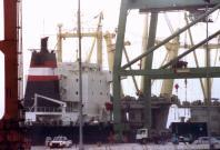 Singapore-flagged vessel detained by Indonesian navy for smuggling goods