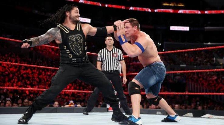 Roman Reigns and John Cena