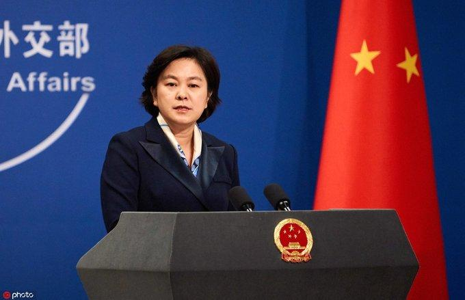 Hua Chunying, Chinese Foreign Ministry's spokesperson