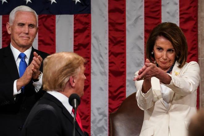 Nancy Pelosi clap