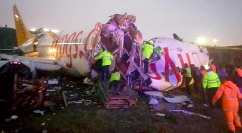 Istanbul plane crash