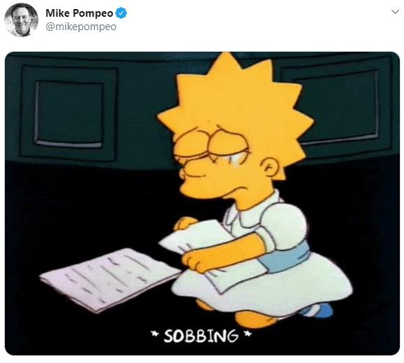Mike Pompeo Tweet
