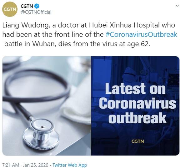 CGTN coronavirus