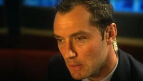 Jude Law in Contagion movie Hollywood