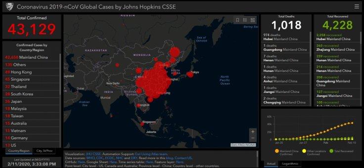 Coronavirus status as of 11 February, 2020