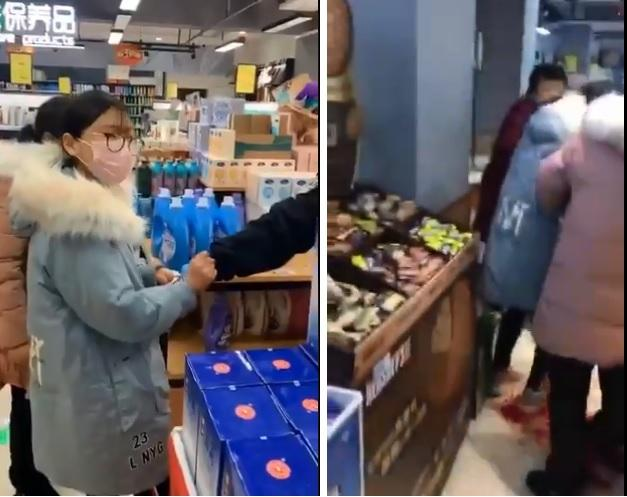 Chinese woman allegedly kills 2 in supermarket