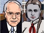 Bernie Sanders and Greta Thunberg