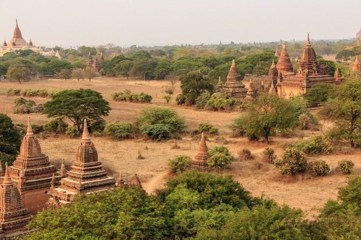 Pagodas in Bagan