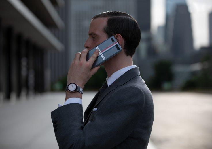 Samsung Z Flip smartphone