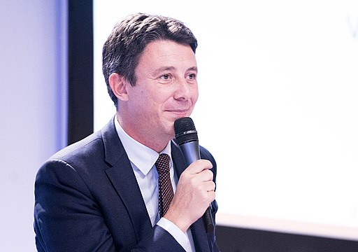 Mayoral candidate Benjamin Griveaux