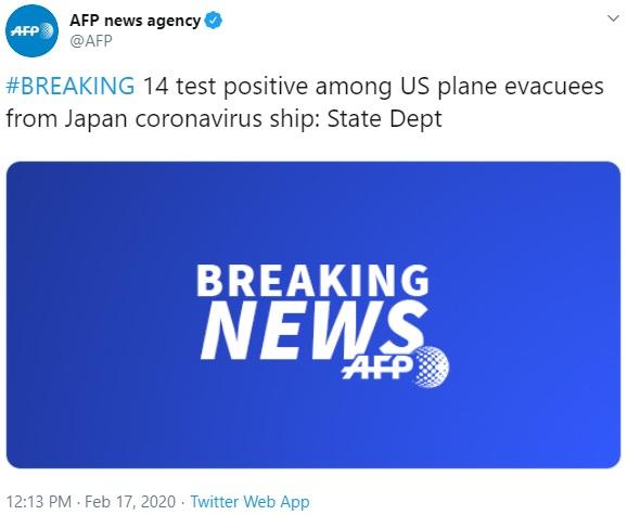 AFP tweet