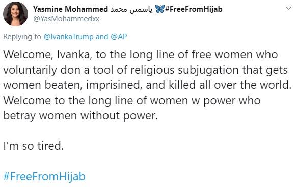 Ivanka Trump hijab