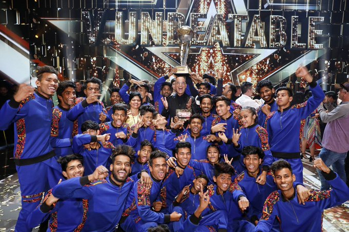 Indian team V.Unbeatable wins America's Got Talent