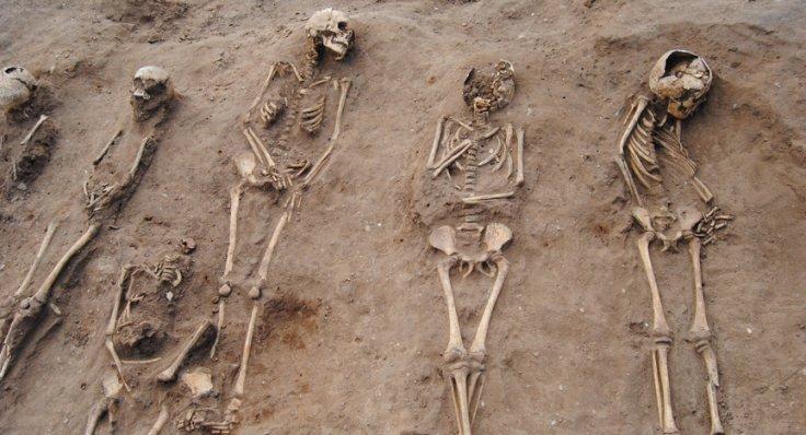 mass grave at Thornton,