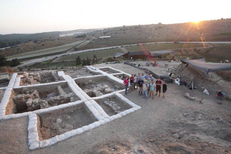 Canaanite Temple at Tel Lachish.