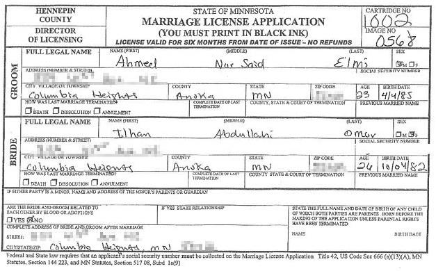 Ilhan Omar marriage