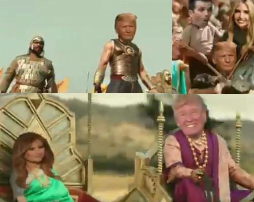 Trump Baahubali