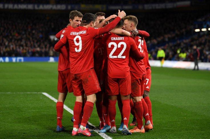 Bayern Munich beat chelsea 3-0