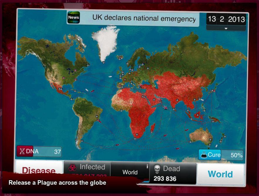 Plague Inc. creator Ndemic Creations donates $250000 to coronavirus relief efforts