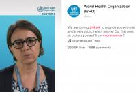 World Health Organisation in TikTok