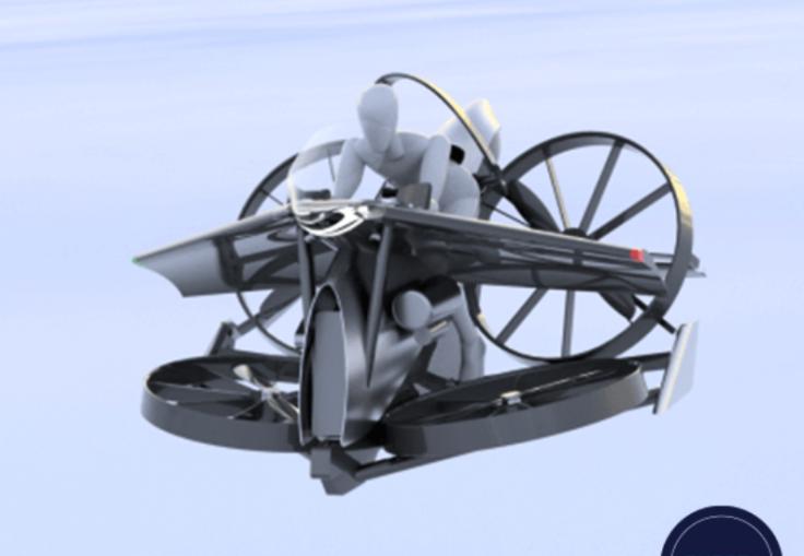 TeTra 3 passenger drone