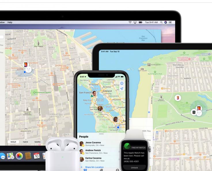 Apple's 'Find My' app