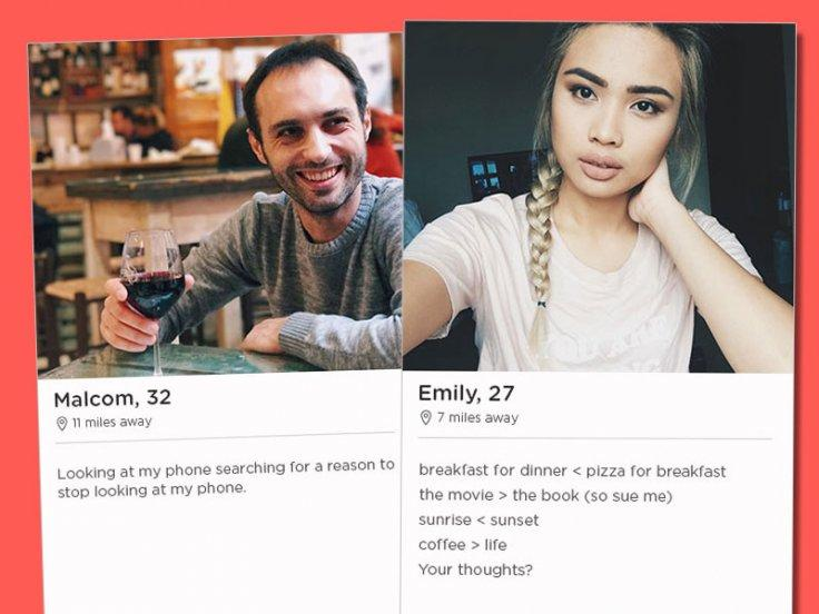 Web profile tinder