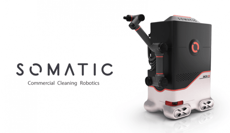 SOMATIC's bathroom-cleaning robot
