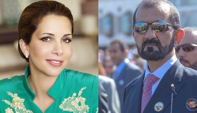 Princess Haya and Dubai's Sheikh Al-Maktoum