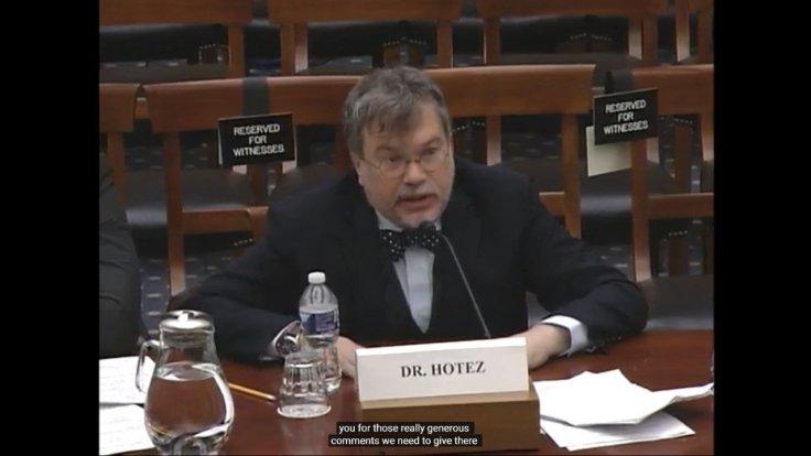 Dr Peter Hotez
