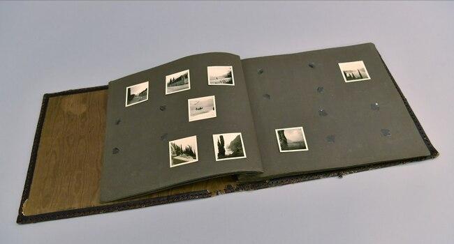 Nazi Photo Album of human skin