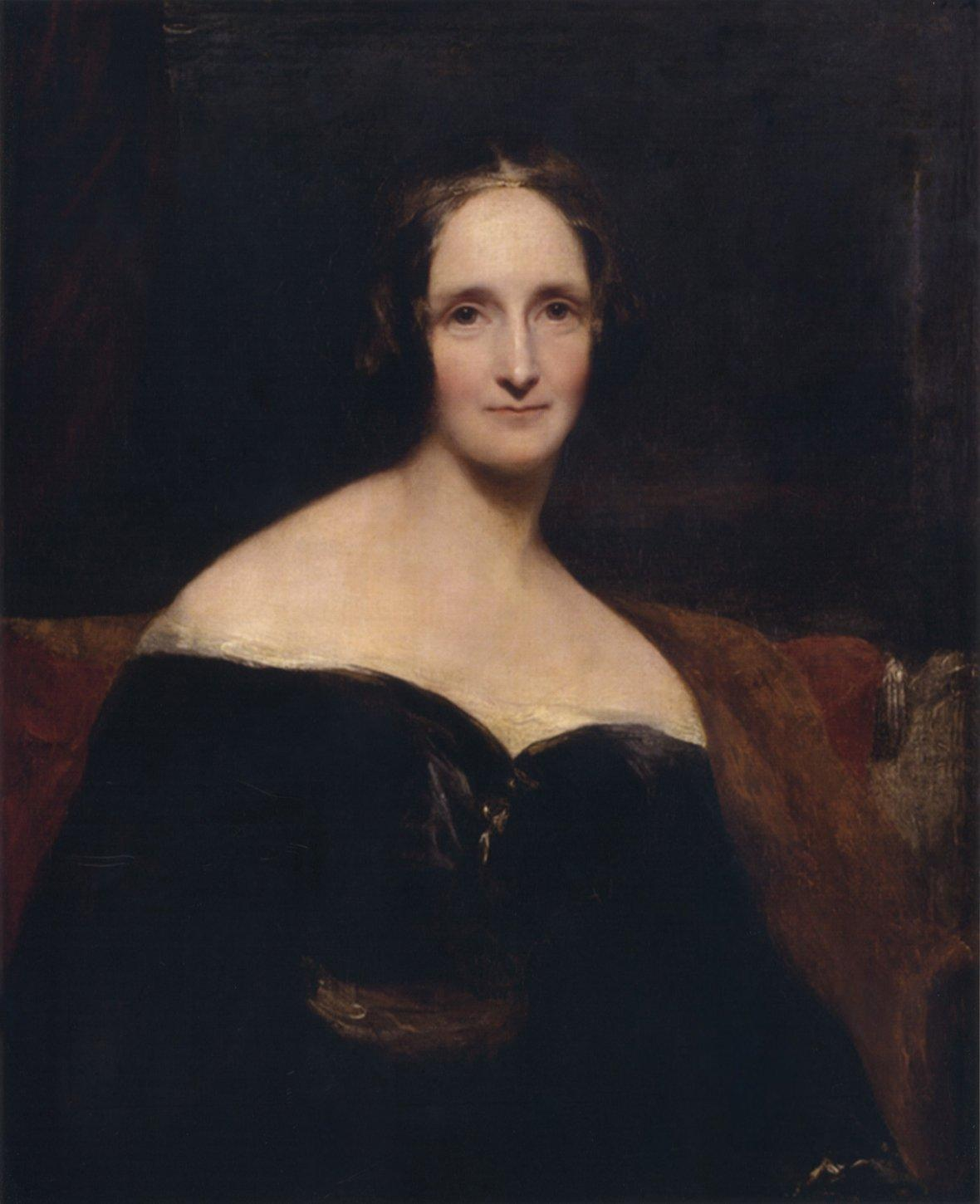 Portrait of Mary Shelley