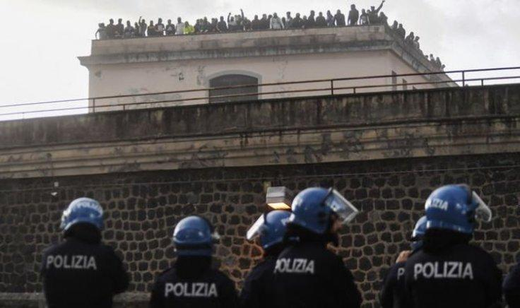 Italy prison riots