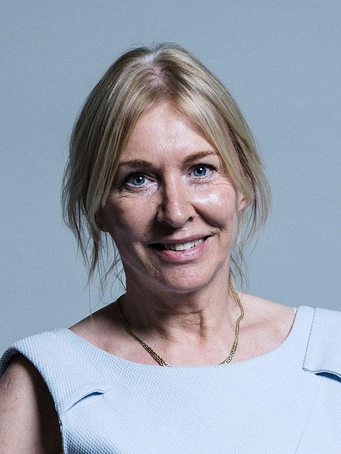 UK's health minister  Nadine Dorries