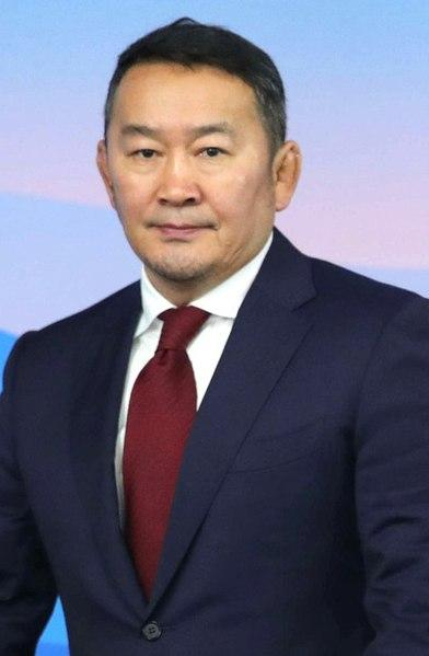Mongolian President Khaltmaagiin Battulga