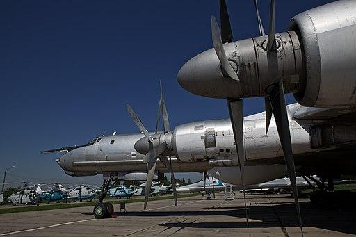 Russian Tu-142 maritime reconnaissance aircraft
