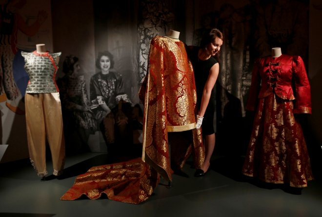 Take a look at 90 years of style from the Queen's Wardrobe