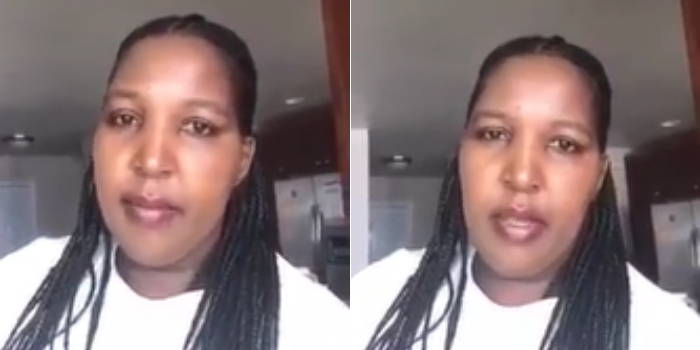 This Kenyan woman claims she is COVID-19 negative