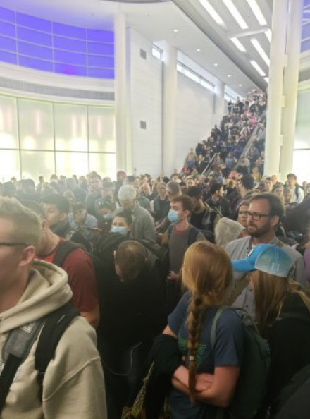 Long lines at O'Hare Airport increase concerns of more
