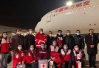 Chinese and Cuban doctors arrive in Italy