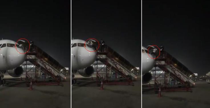 AirAsia pilot escapes from cockpit exit amid Coronavirus scare