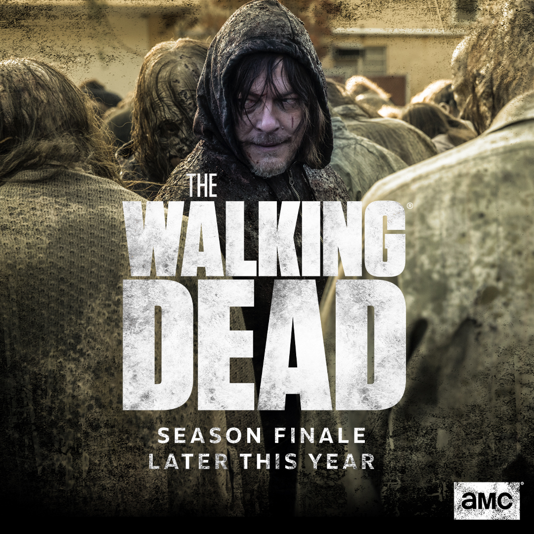Daryl Dixon The Walking Dead Close Up Poster