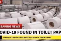 """Fake news on """"COVID-19 found in toilet paper"""" goes viral"""