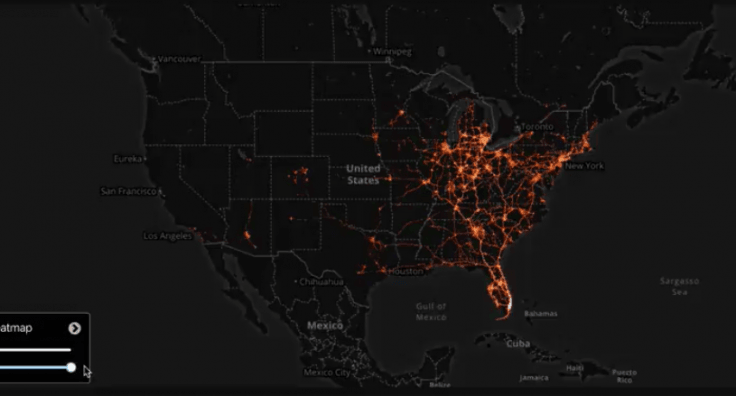 cellphone heat map