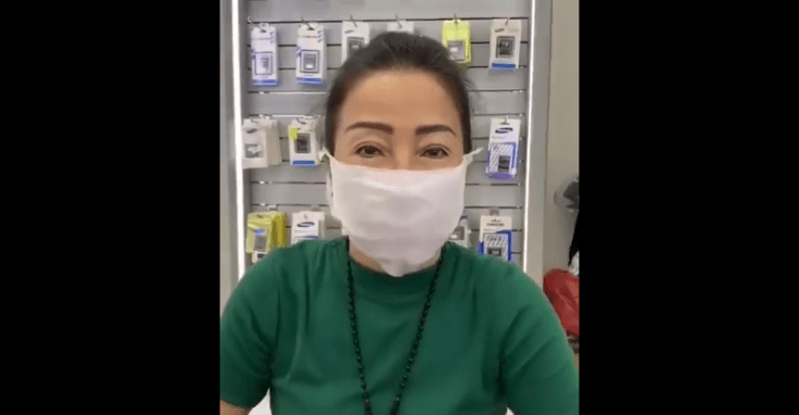 This woman suggests on using wet wipes as face masks, but is it safe?