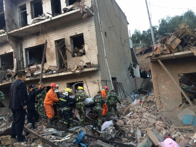 Blast kills at least 14, injures 147 in northwestern China