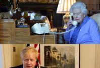 Queen Elizabeth Boris Johnson
