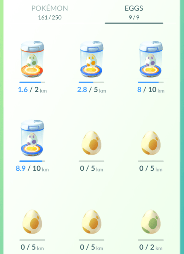 Pokemon GO: Pokemon egg redesign