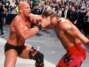 Steve Austin and Shawn Michaels